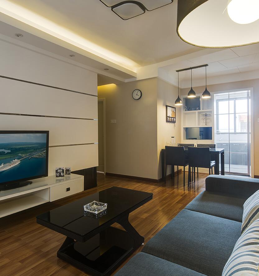 客厅 现代混搭风格