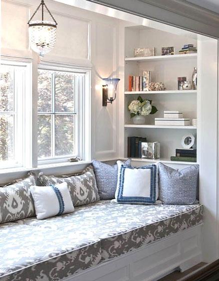 四、家居飘窗装修设计之形式