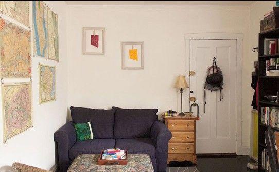 只有37�O的单身公寓 也能这么温馨