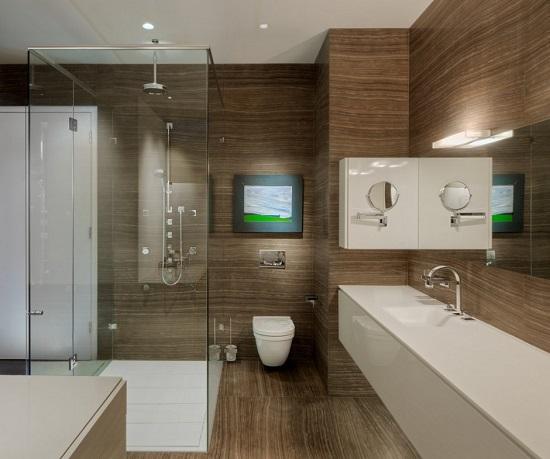 卫生间小怎样改造才显得更大