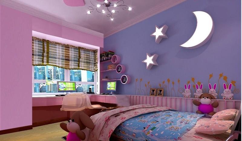 儿童房适合什么颜色?有哪些搭配技巧?