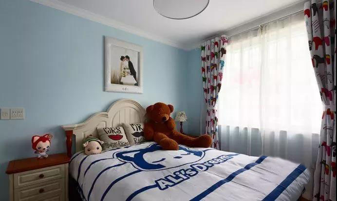 蓝色地中海风格 属于90�O的温馨浪漫