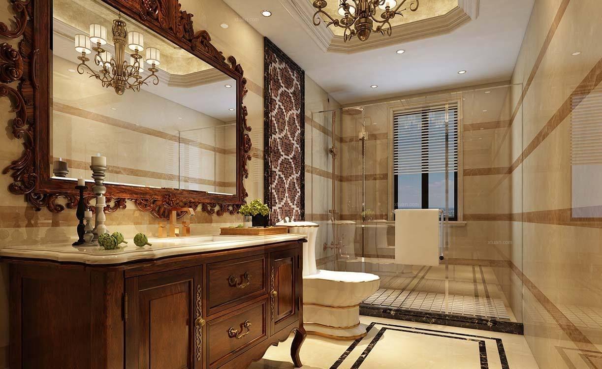 长沙装修公司丨美式风格卫生间应该怎么装修?