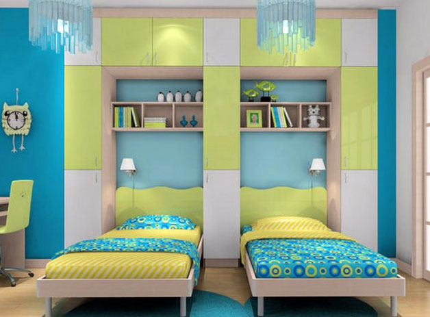 上下铺or两张床 家有二胎的你怎么选?