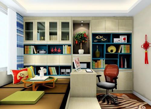 书房装修:书房装修之榻榻米优点多