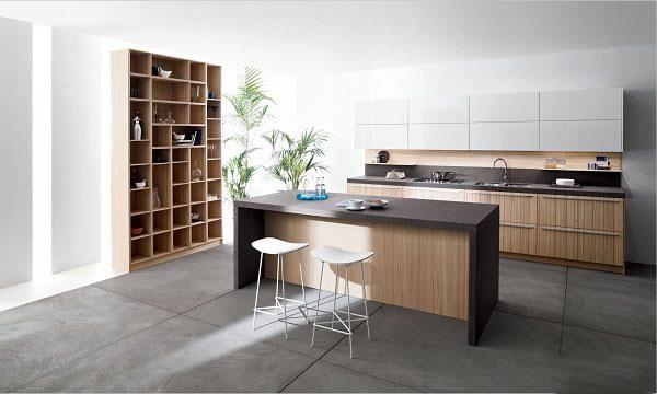 开放式厨房装修效果图 中岛台设计如此好看!