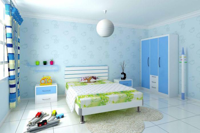 儿童房装修丨儿童房设计的三大基本原则
