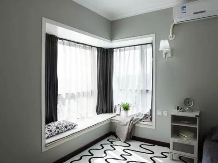 飘窗装修丨转角飘窗应该怎么装修?