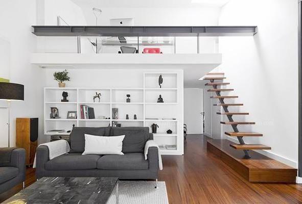 长沙装修公司丨跃层楼梯有哪些装修误区?