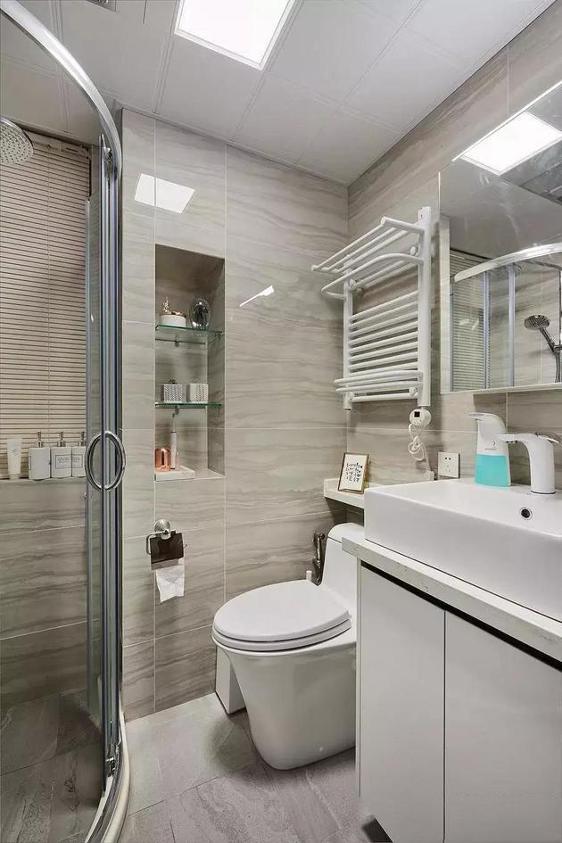 89�O全包12万三室两厅装修 北欧现代风格好看又实用!