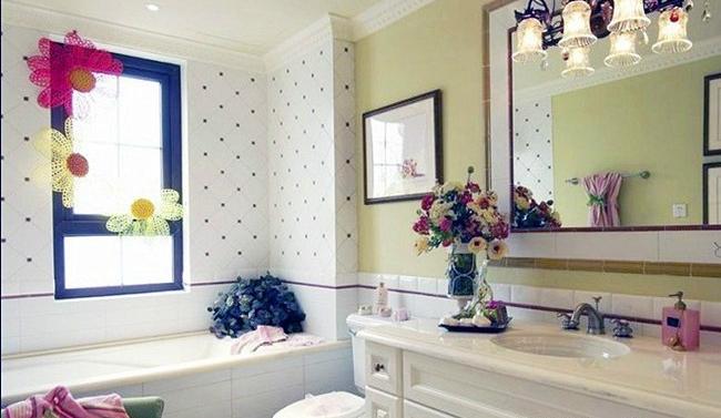 小户型韩式风格卫生间应该怎么设计?