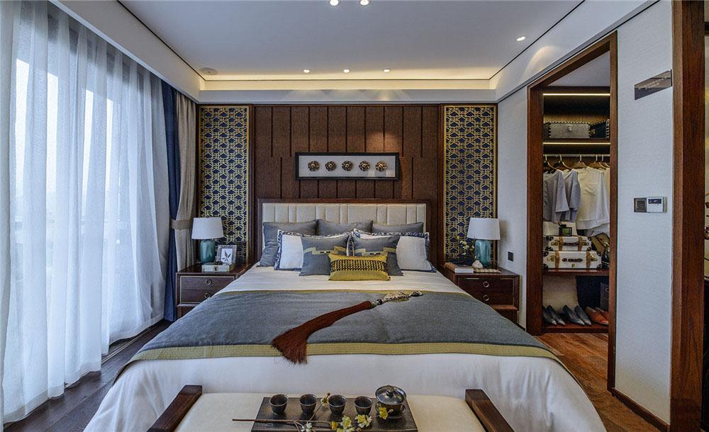 300�O新中式风格装修 奢华有气质的超大别墅!