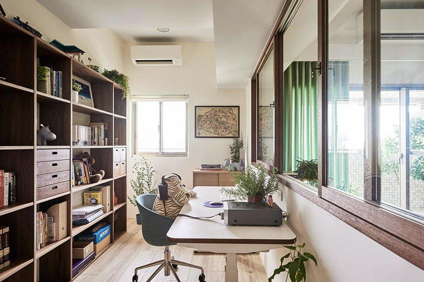 99�O日式风格住宅 紧致又有序的收纳设计很实用!