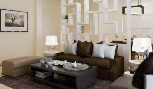 客厅隔断装修怎样设计实用又好看?