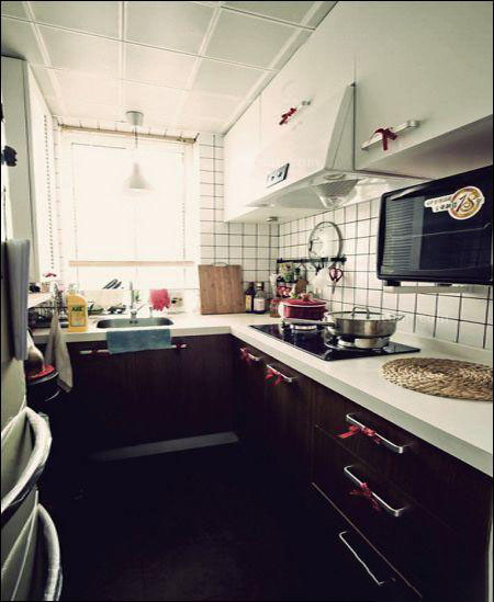 45�O混搭风格单身公寓装修 宅男的福音!