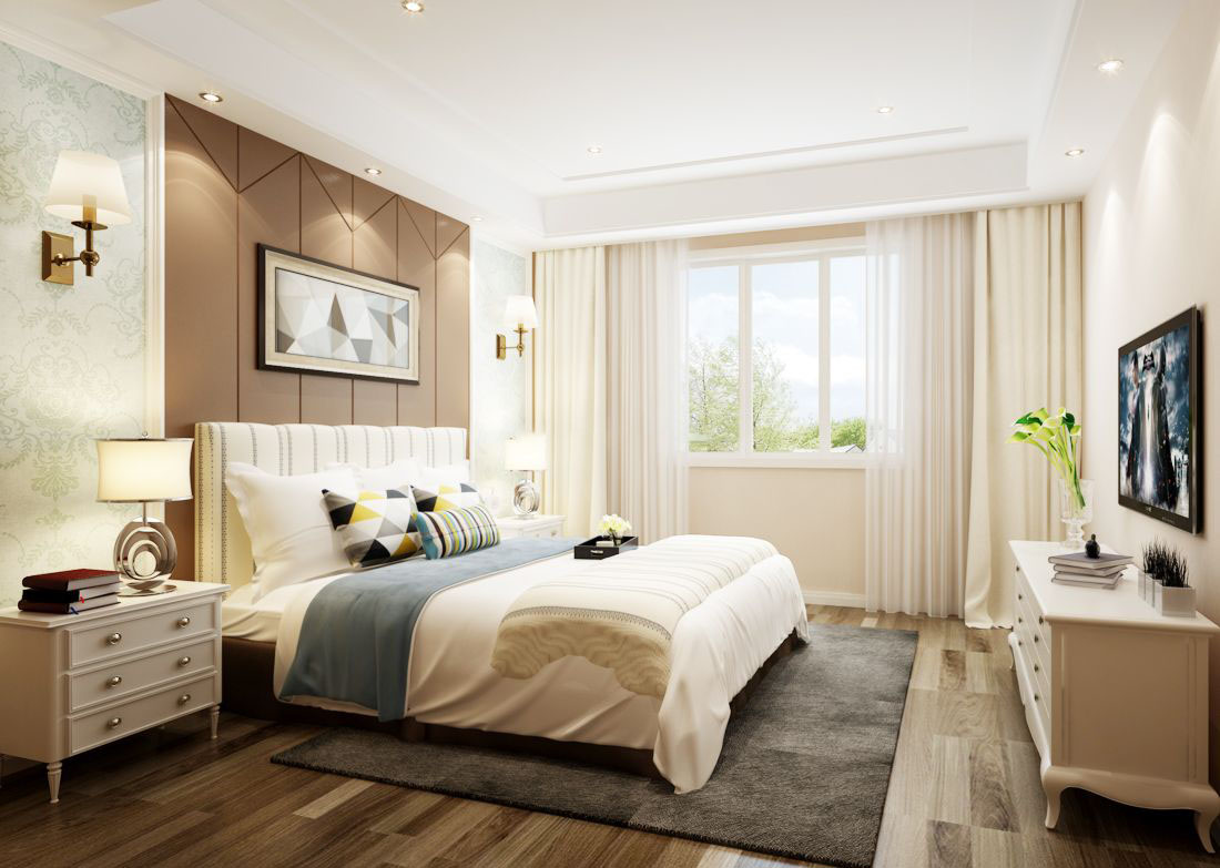 长沙装修公司丨卧室安装电视有哪些注意事项?