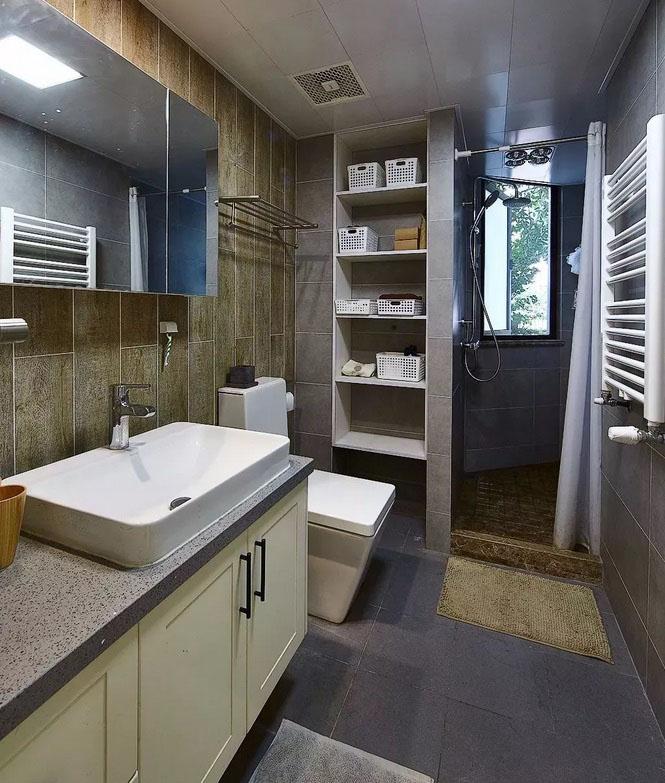 208平简约风格装修 自然元素的加入舒适又精致!