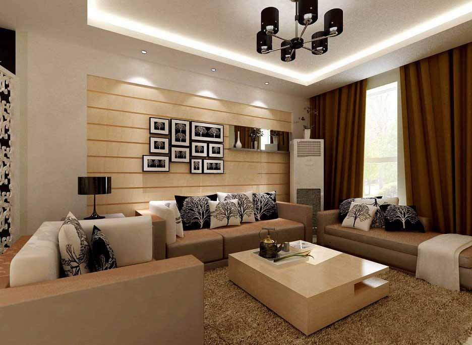 长沙装修公司丨现代家居客厅背景墙应该怎么设计?