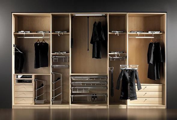 四款超实用的衣柜布局设计 让生活变得更精致!