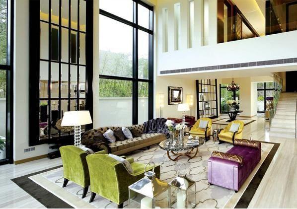 混搭风格的别墅客厅应该怎么装修?