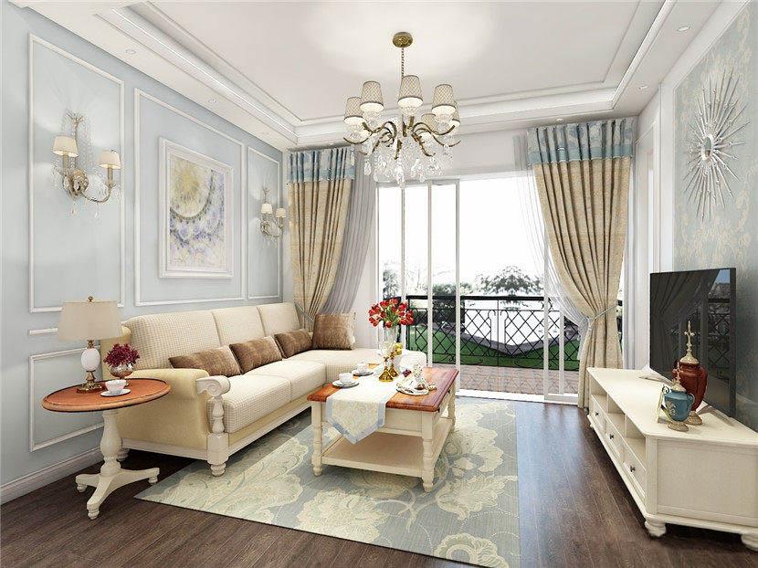 82�O小户型装修 现代美式风格美观又舒适!