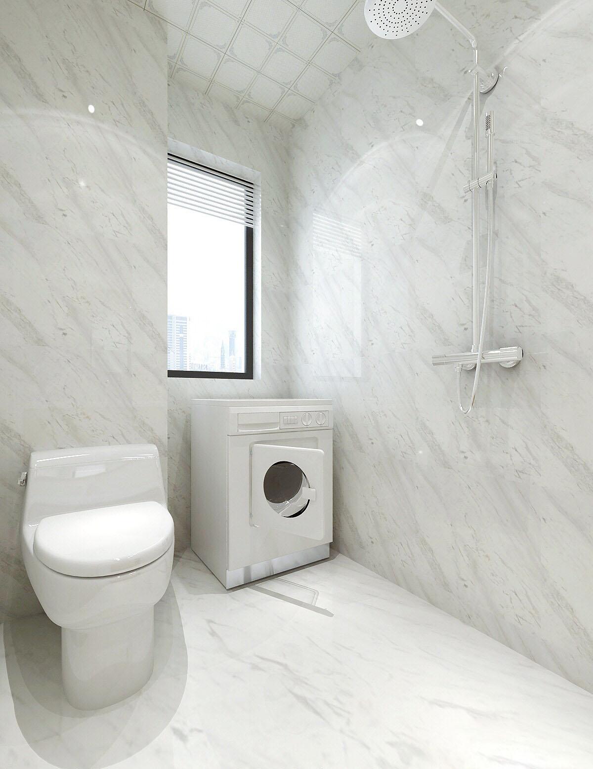 100�O三室两厅现代简约之家 简单的造型很实用!