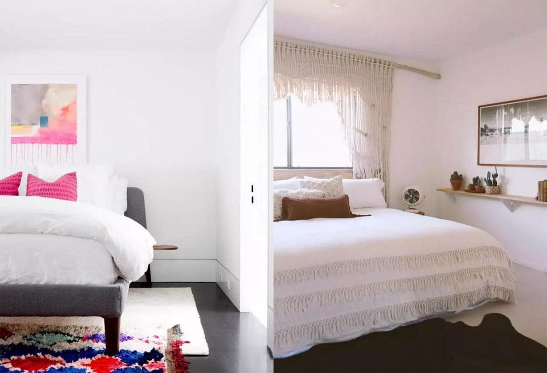 卧室装修别只用床头柜来收纳了,这样设计更加灵活方便!