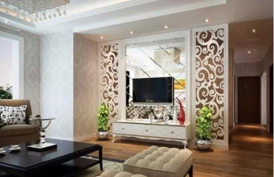装修设计丨电视墙隔断装修应该怎么做?