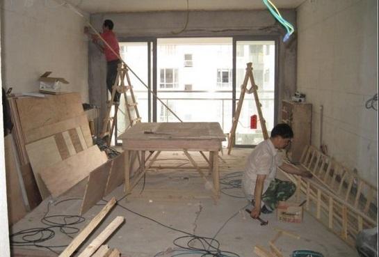 木工施工的工艺流程有什么要求?