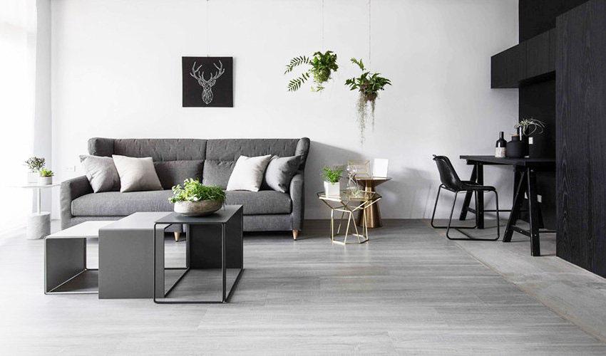 125平简约日式风格装修 黑白灰木色打造静谧安稳之家!