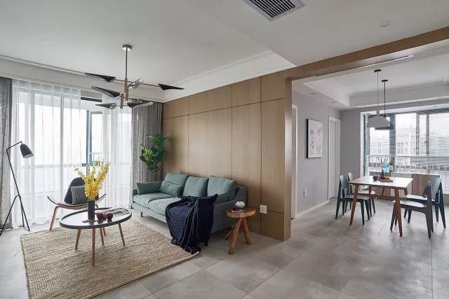 130�O三室两厅装修效果图 空间利用很巧妙 太实用了!