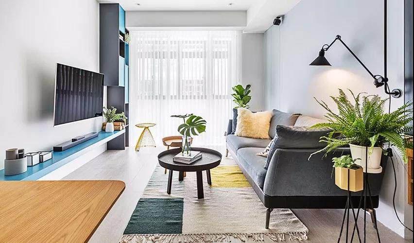 房子老旧空间小?80�O老房这样改造,清新舒适还增加了收纳空间!