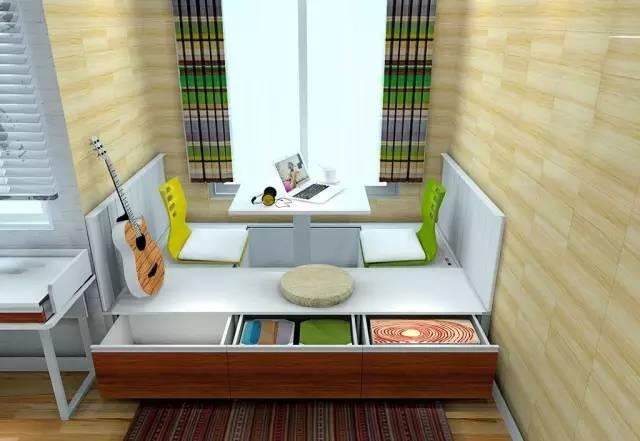 小户型空间小装修难?家具这样组合就对了,实用又省空间!