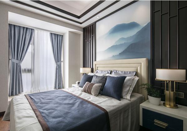 新中式风格装修效果图 由浅入深的东方魅力!