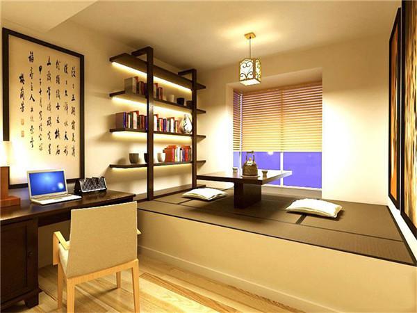 长沙家装公司丨日式风格书房装修设计有哪些特点?