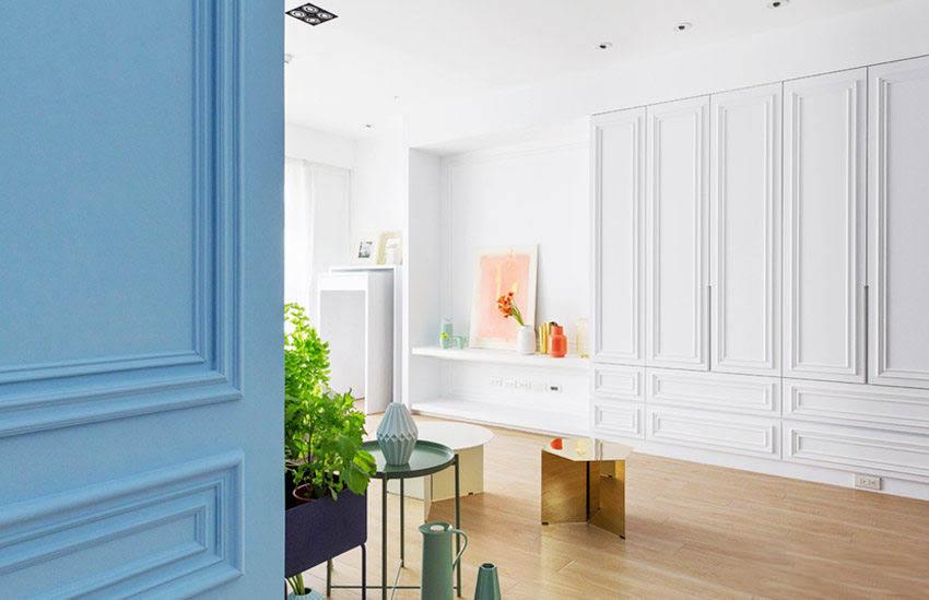 125�O混搭风格装修效果图 丰富的色彩搭配极具现代美学!