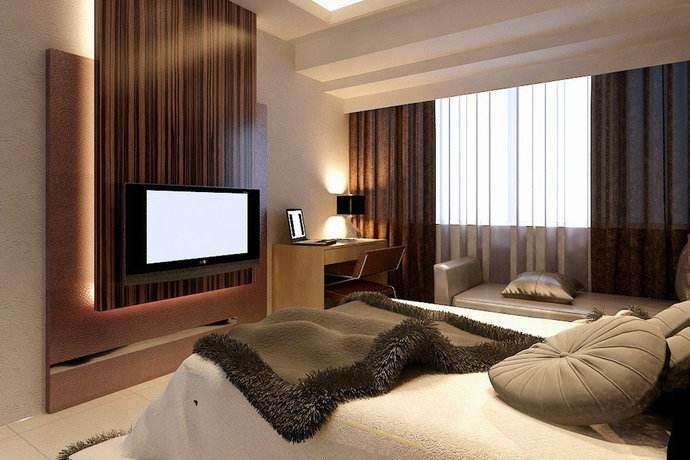 长沙家装公司丨电视机挂墙高度多少比较合适?