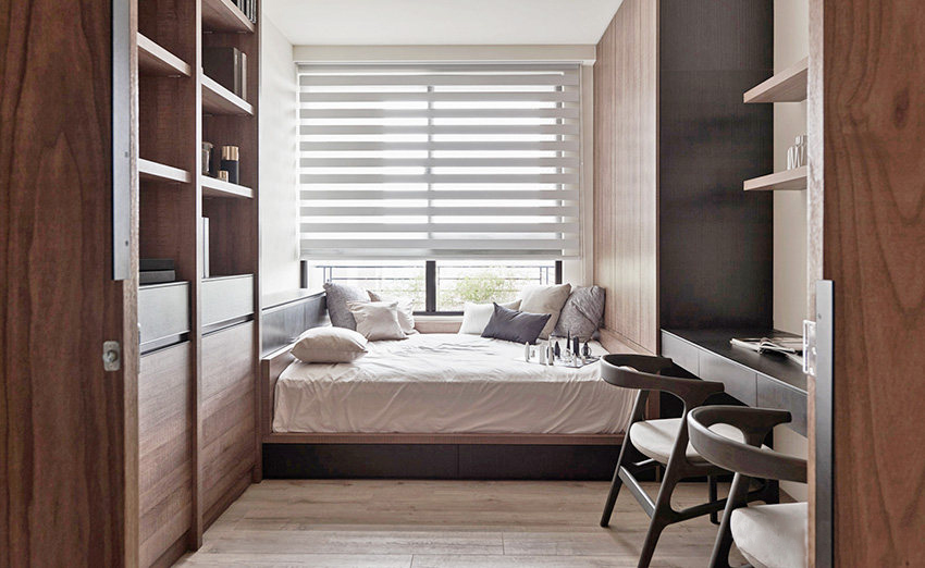 160�O现代简约风格装修 灰色调+原木风打造的简约之家!