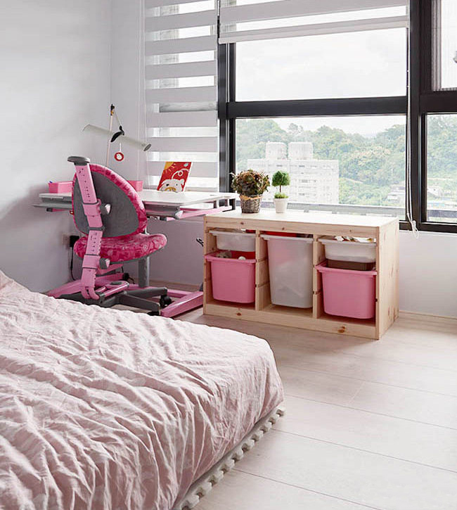 110�O休闲北欧风格装修 原木风打造清新自然舒适的家居空间!