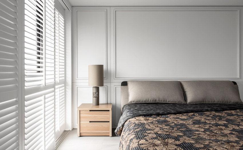 100�O新房,简约美式风格装修,3室2厅布局,好设计真的很重要!