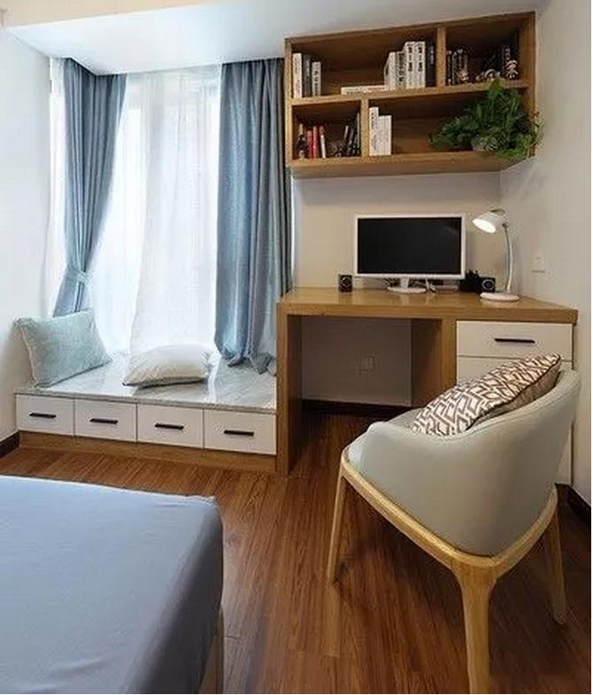 110�O新中式风格 极简原木家具 适合年轻人的新中式之家!