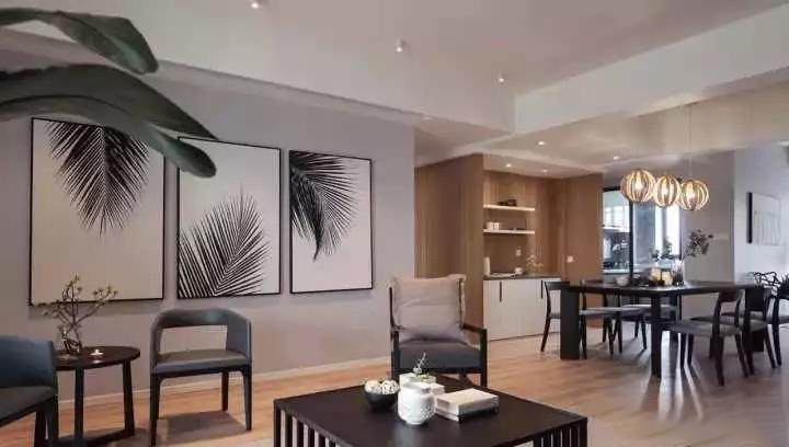 180�O简约风格装修 全屋收纳与隐形门设计实用不失个性!