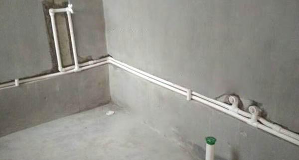 水电改造时水管从哪里走会比较好?