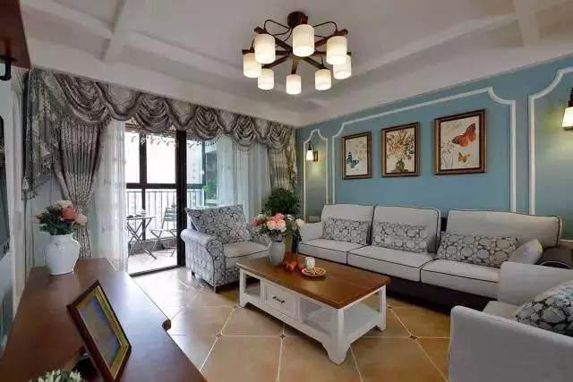 128�O地中海风格 蓝色调装修和全屋收纳设计 温馨又有格调!