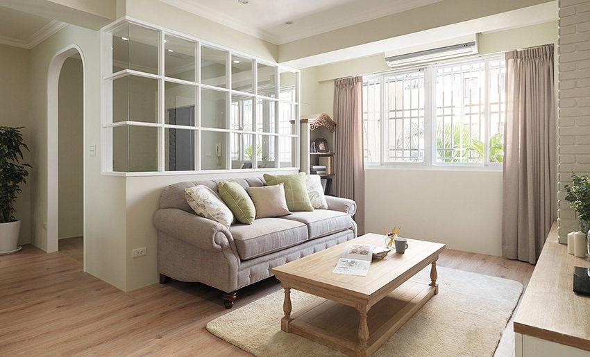 35年旧房改造翻新 82�O3室2厅乡村风格装修 温暖舒适!