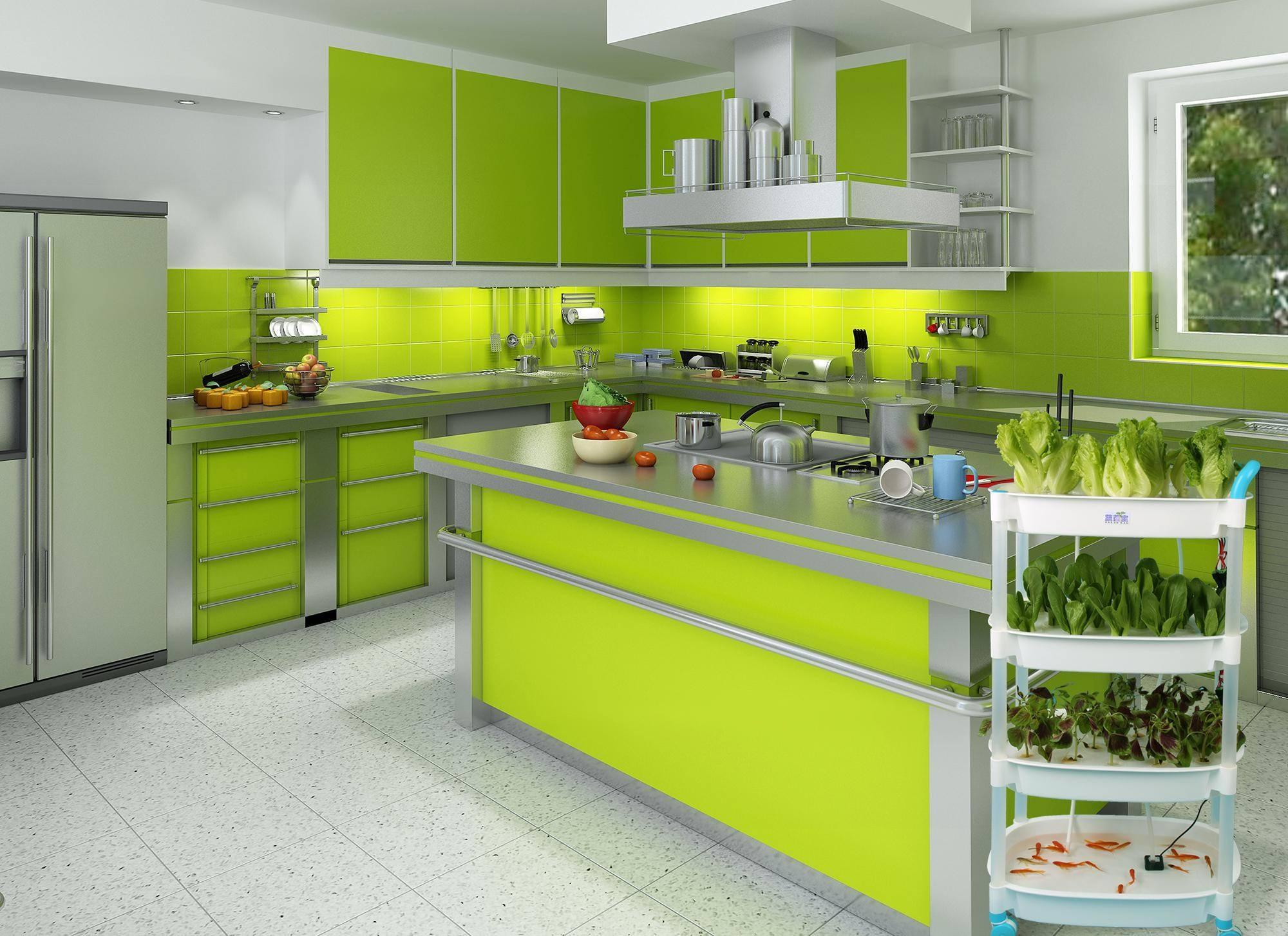 厨房装修千篇一律?试试这些颜色的墙砖,美观又与众不同!