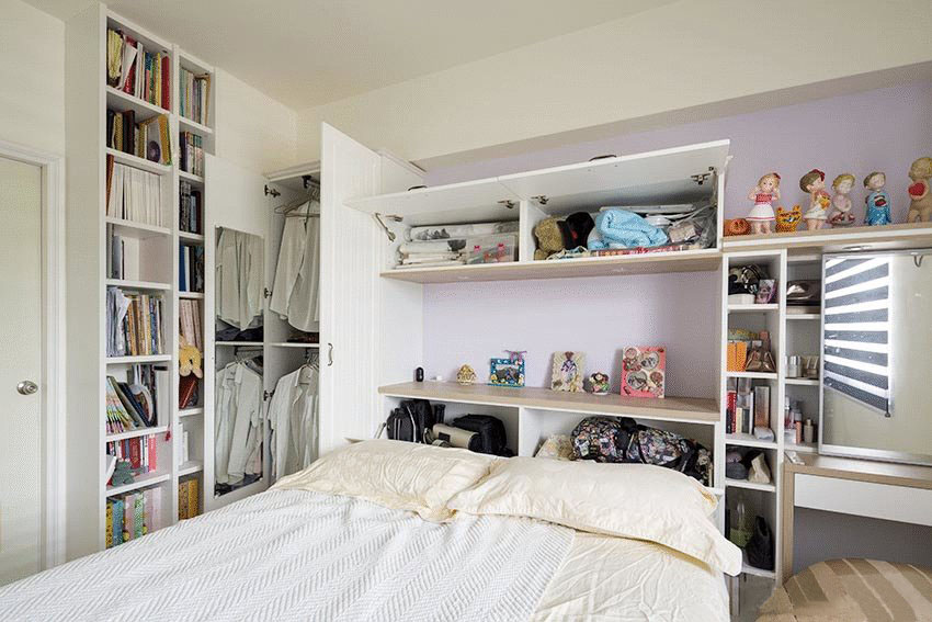 115�O简约风格装修改造 全房收纳设计 空间扩大不止一倍!