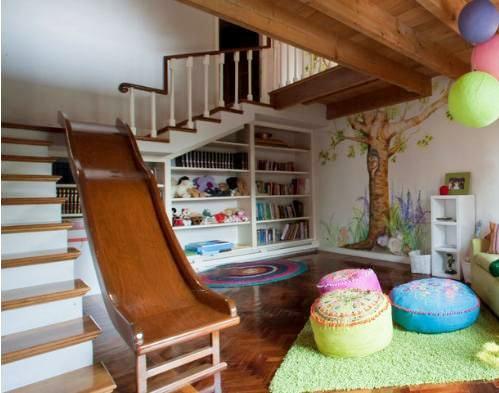 儿女双全却只有一间儿童房怎么办?这样设计美观实用孩子喜欢!