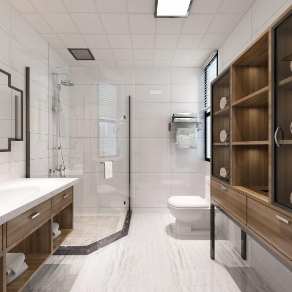 卫生间小不着急,看看这些小妙招,小卫生间也会很显大!
