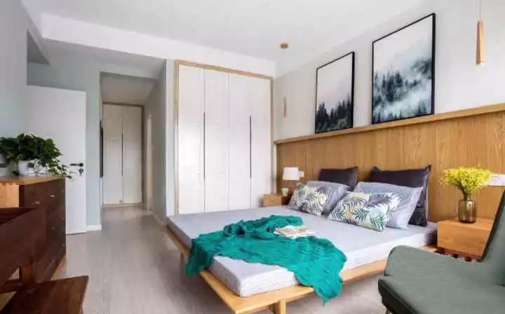 125�O简约四室装修 卡座代替沙发 实用又省空间!